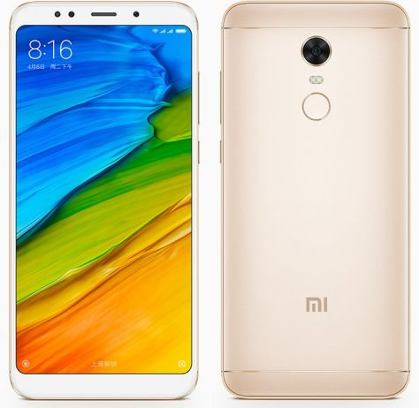 Xiaomi Redmi 5 Plus 3/32GB (Gold)