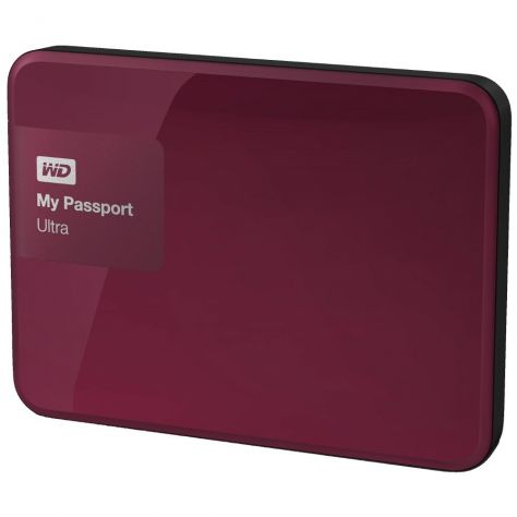WD 500GB My Passport Ultra (WDBBRL5000ABY-EEUE)