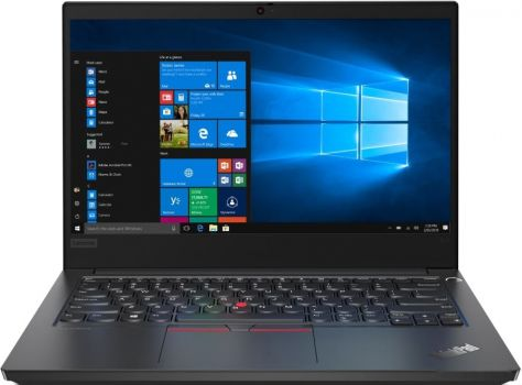 Ноутбук Lenovo ThinkPad E14 (20RA002QRT) 14 FHD IPS/I3-10110U/8GB/SSD256GB/IntelHD/BACKLIT/DOS/BLACK